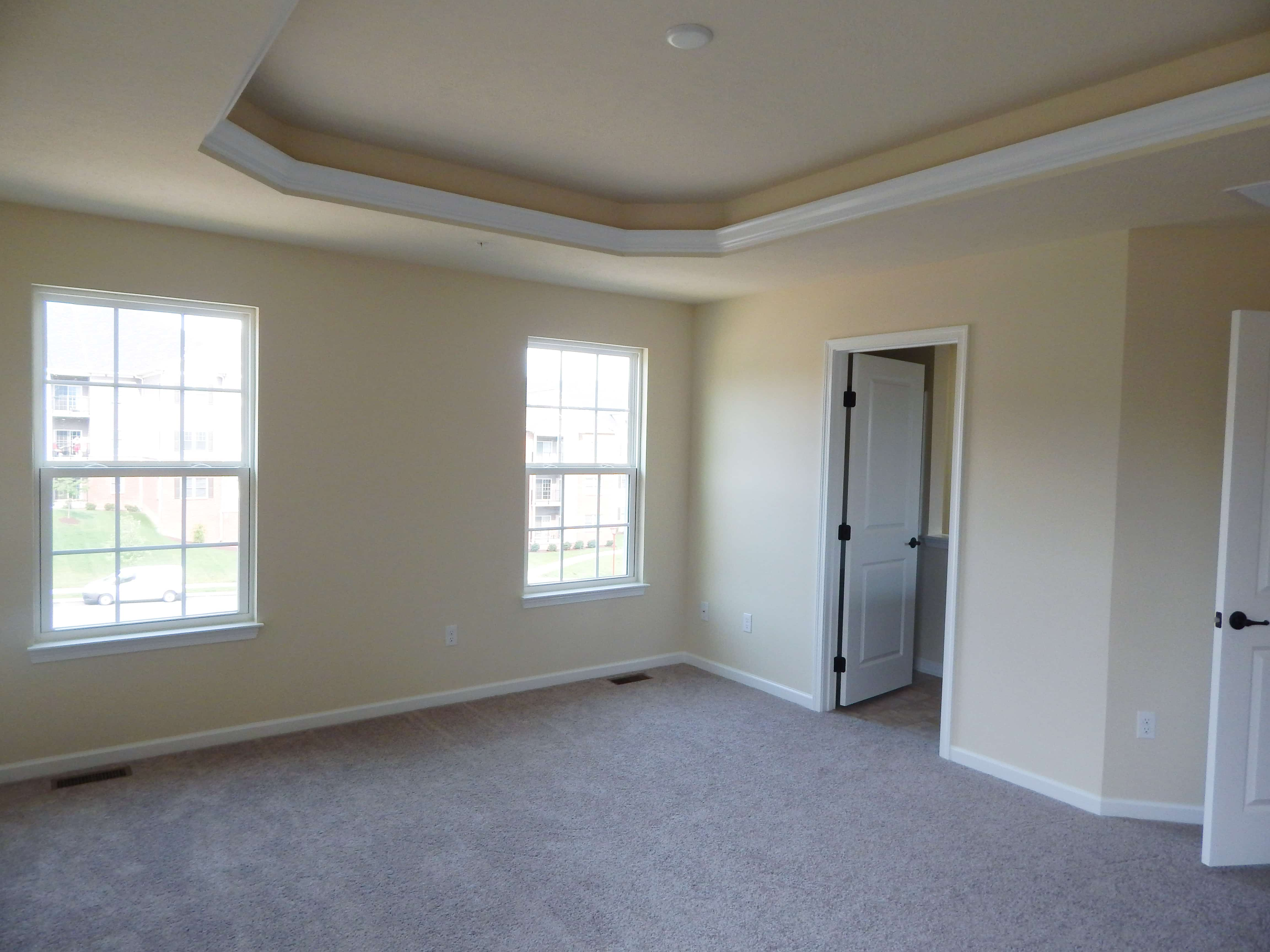 Master Bedroom Second Level Tray Ceiling Ryan Homes Wexford