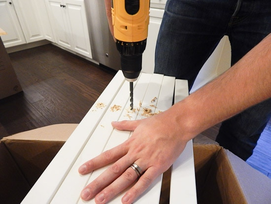 Pantry Drilling Shelf Supports