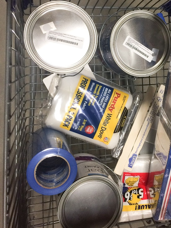 Lowe's Shopping Cart Supplies
