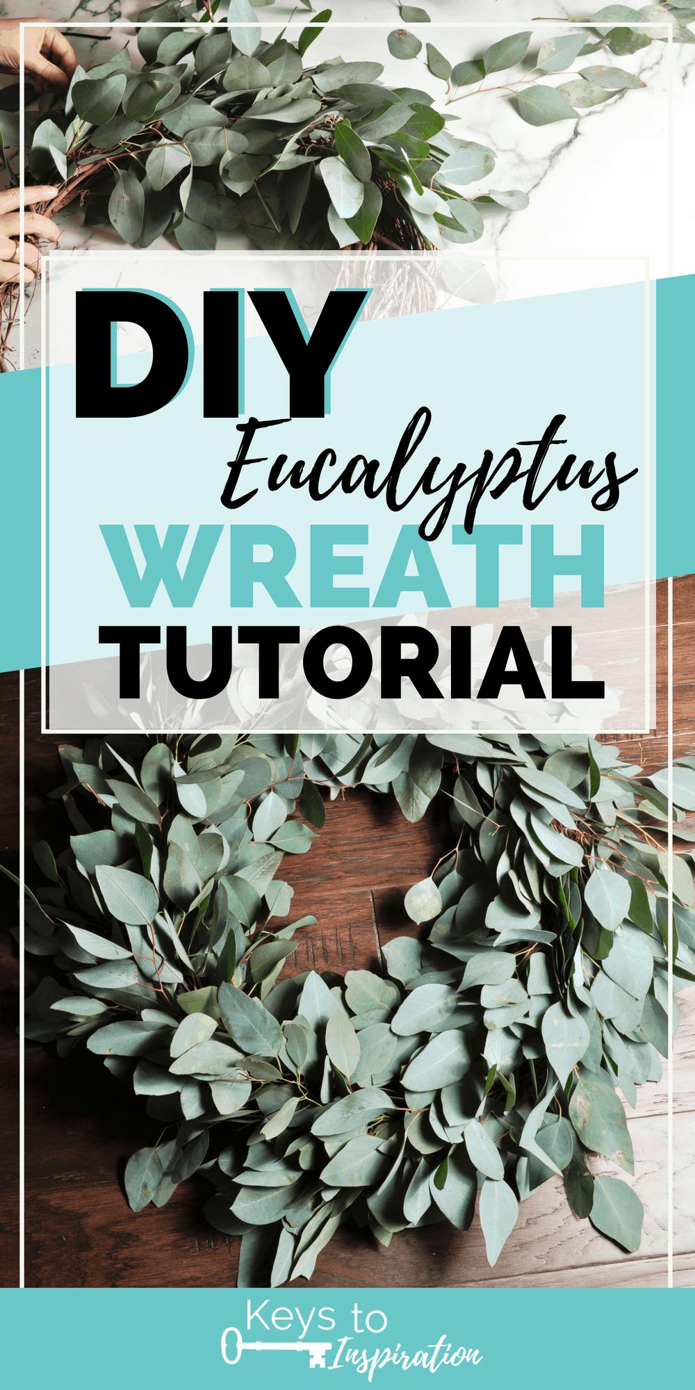 Eucalyptus wreath making
