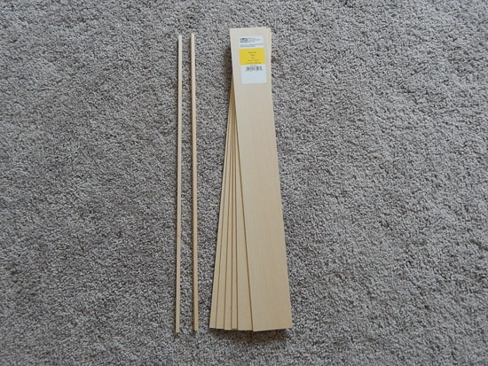 Basswood Supplies for Sign