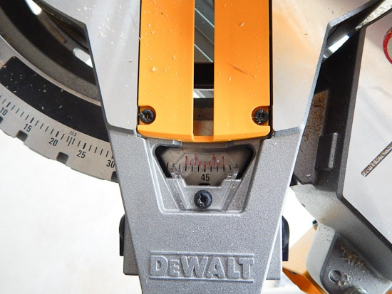 45 Degree Angle Miter Saw