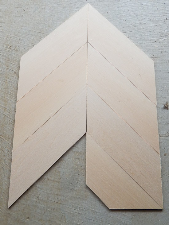 Dry Fit of Sign Herringbone Pattern