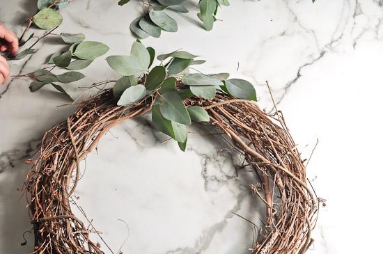 DIY Eucalyptus Wreath Tutorial-26