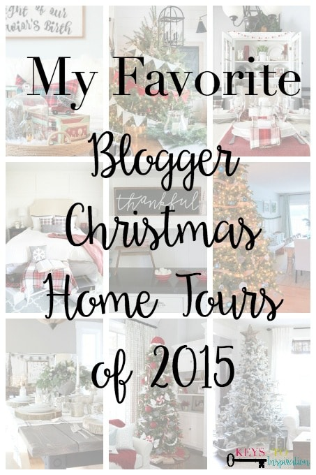My Favorite Blogger Christmas Home Tours of 2015