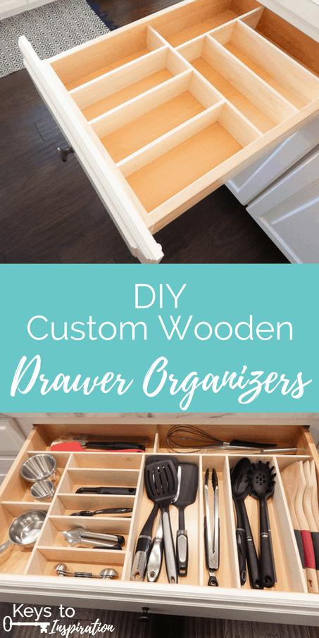 Diy Custom Wooden Drawer Organizers 187 Keys To Inspiration