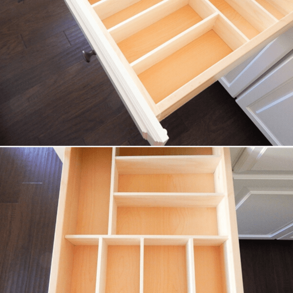 custom wooden drawer organizers