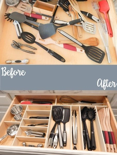 Super easy way to make custom drawer organizers!