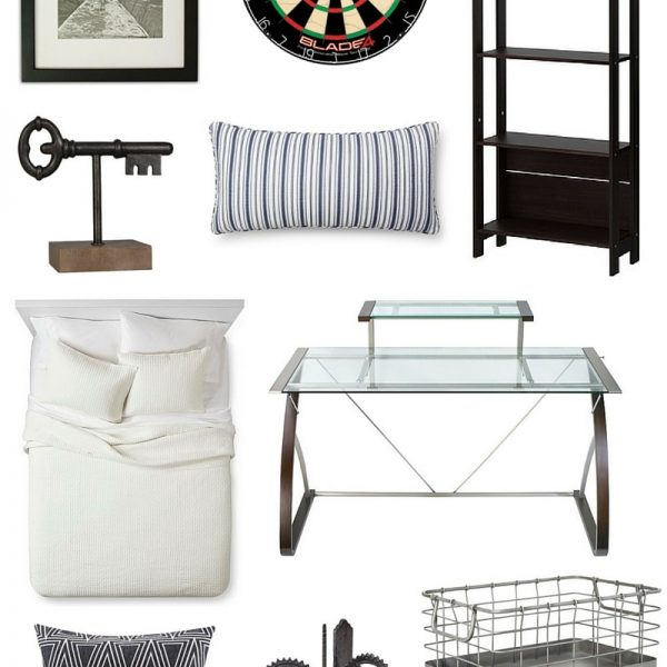 Some great finds to make an office any man will love!