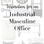 Inspiration for an Industrial Masculine Office