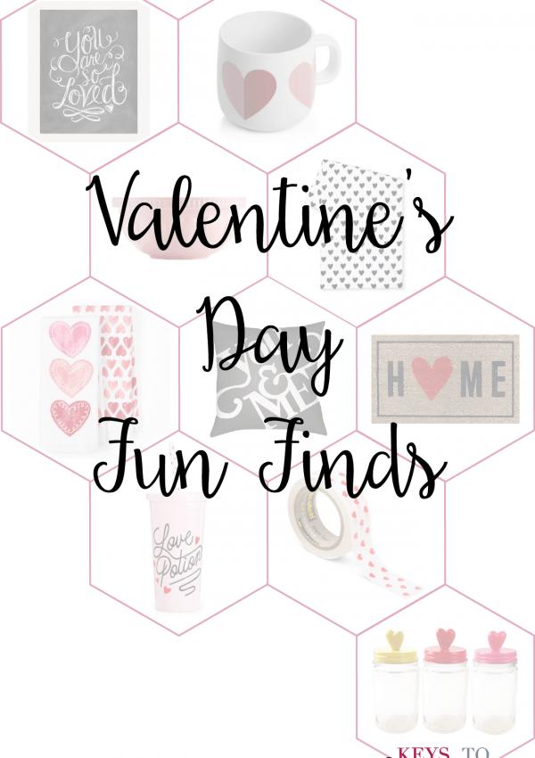 Valentine's Day Fun Finds