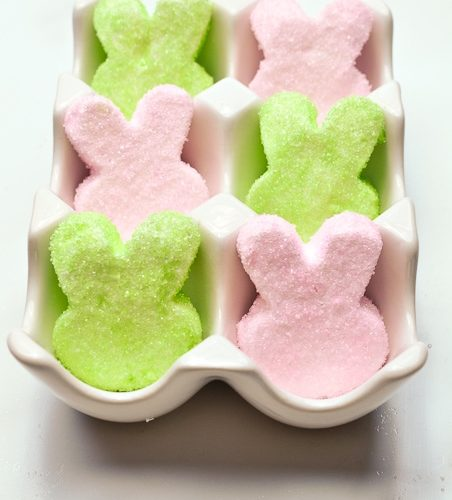 Easy Homemade Marshmallow Easter Peeps