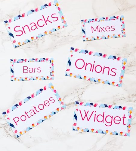 She shows you step by step how to make pretty labels using the Cricut Explore! Such an easy tutorial with great information!