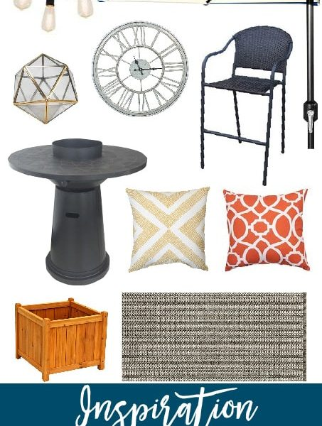 Awesome finds for some porch inspiration! I can't wait to see how this space comes together!