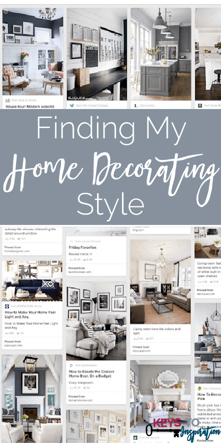 how to find your home decorating style using Pinterest