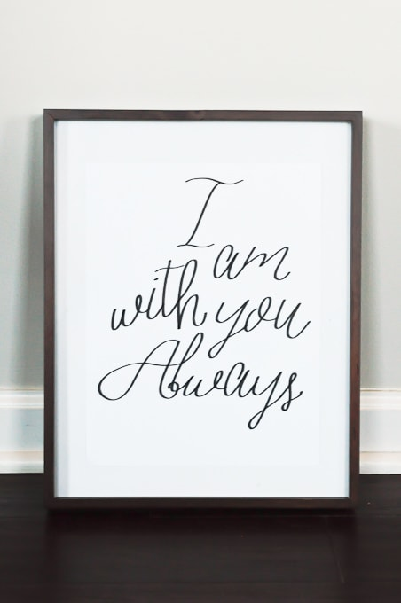Easy Calligraphy using the Cricut Explore pen adapter! Step by step instructions here! I Love how this looks!!!