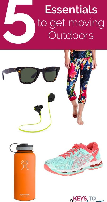 Friday 5 – Essentials to get Moving Outdoors