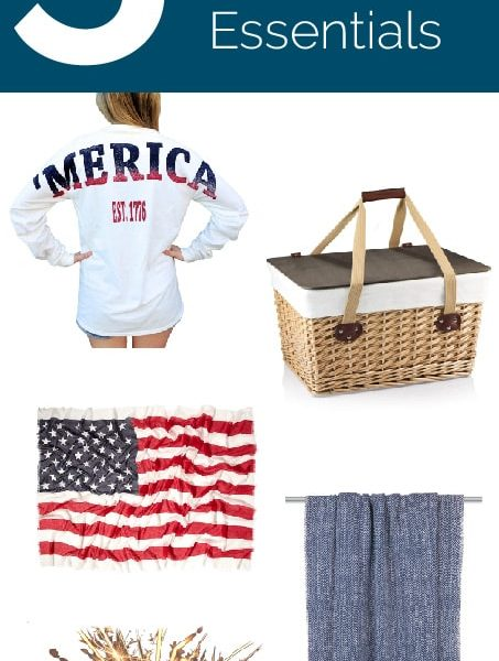 Friday 5 - Fourth of July Fireworks Essentials: 5 things to bring with you for 4th of July Fireworks!