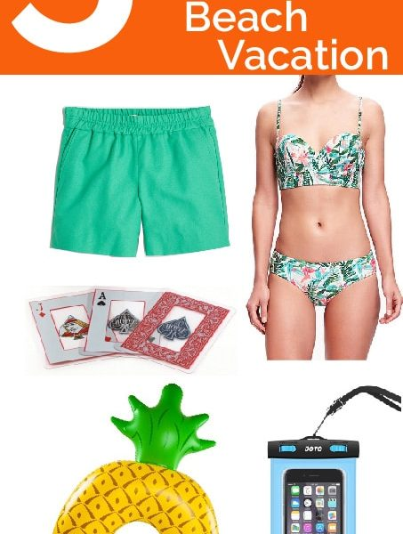 Friday 5 - Things to Pack for a Summer Beach Vacation: 5 beach essentials for fun in the sun!