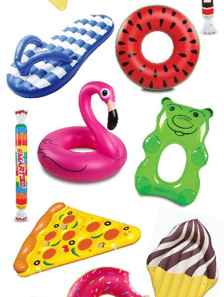 The best budget pool floats for summer! I love the pineapple one! All of these are under $30!