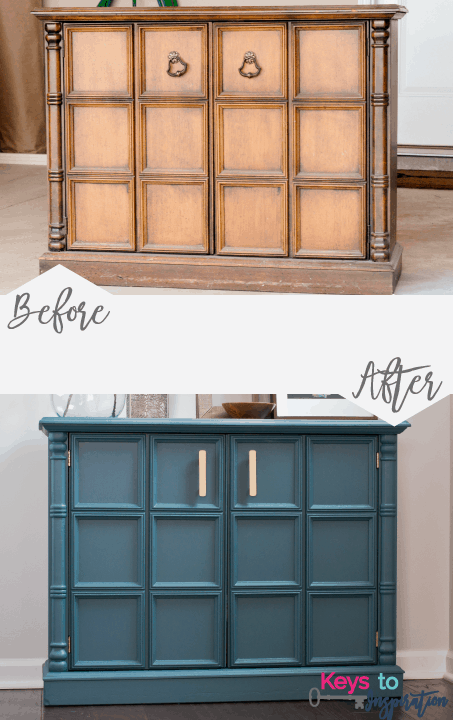 The Easiest Way to Update Old Furniture