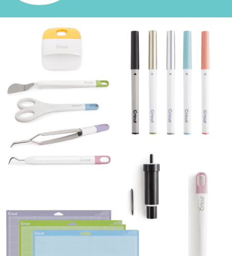 Friday 5 - Favorite Cricut Accessories: 5 of my favorite accessories that I use with my Cricut Explore - the best DIY crafting tool!