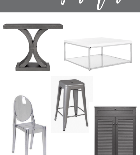 Groupon Goods has some amazing deals on furniture. A ton of affordable and cheap options that totally fit my style! You have to check out the home decor section! #Groupon #ad