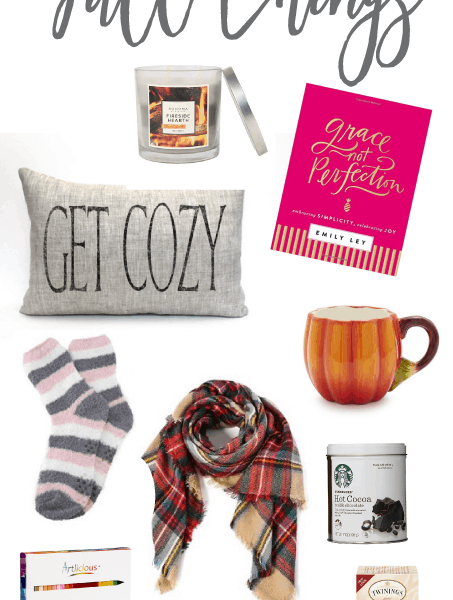 The coziest things for a nice and relaxing day. I love all these things, especially for the fall. So many great gift ideas!