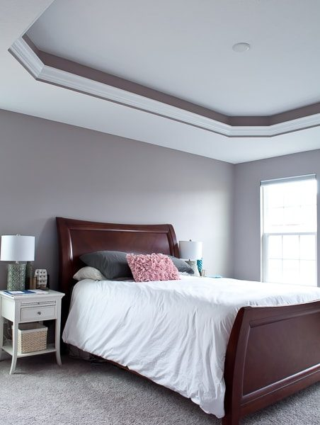 She shares her list of updates to transform her house into a home - this is the master bedroom list!