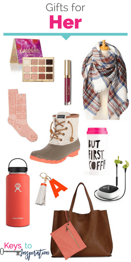 Gift ideas for her. So many great items for women. These would make great Christmas gifts!
