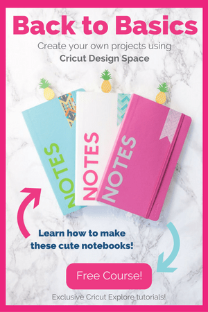 Back to Basics: Create your own projects using Cricut Design Space