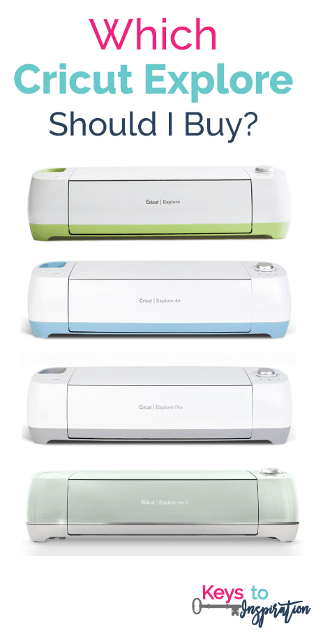 Which Cricut Explore should I buy? This post is so informative! It explains all the different Cricut Explore machines and the features of each one!