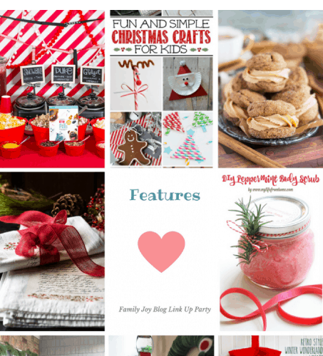 Features from the Family Joy Blog Link Party #47. Great and creative ideas!
