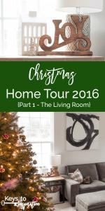 Christmas Home Tour 2016 {Part 1 – The Living Room}