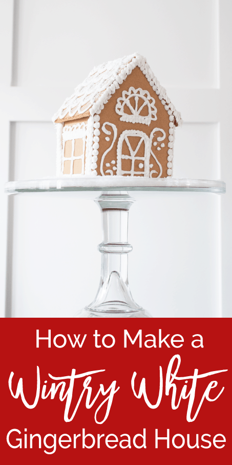 how to make a wintry white gingerbread house  u00bb keys to