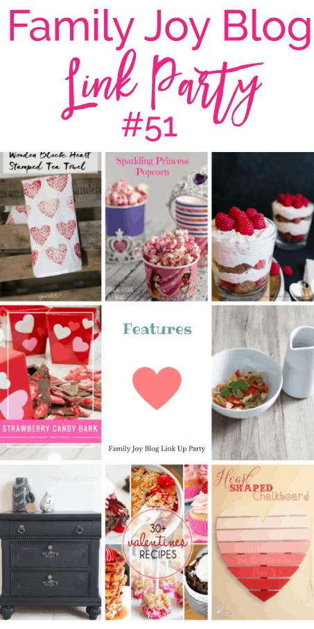 Features from the Family Joy Blog Link Party #51. Great and creative ideas!