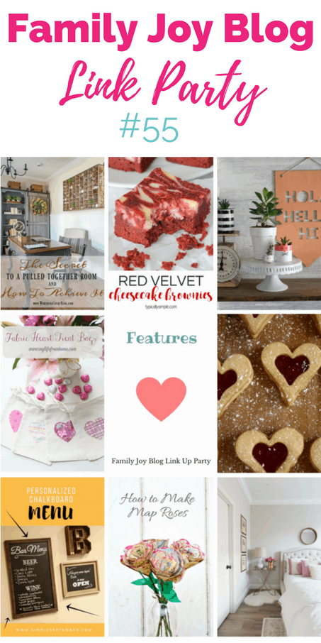 Features from the Family Joy Blog Link Party #55. Great and creative ideas!