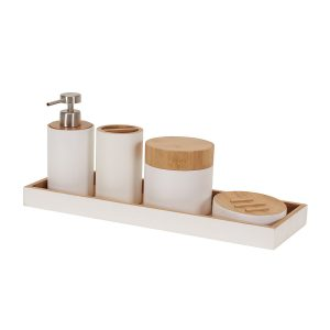 Get the Modern Classic look for less! Affordable Bathroom Styling Accessories for your home. All of these are from Amazon!