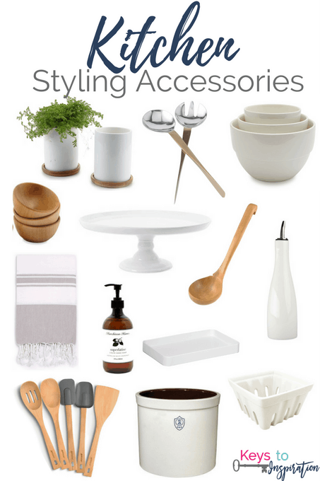 Get the Modern Classic look for less! Affordable Kitchen Styling Accessories for your home. All of these are from Amazon!