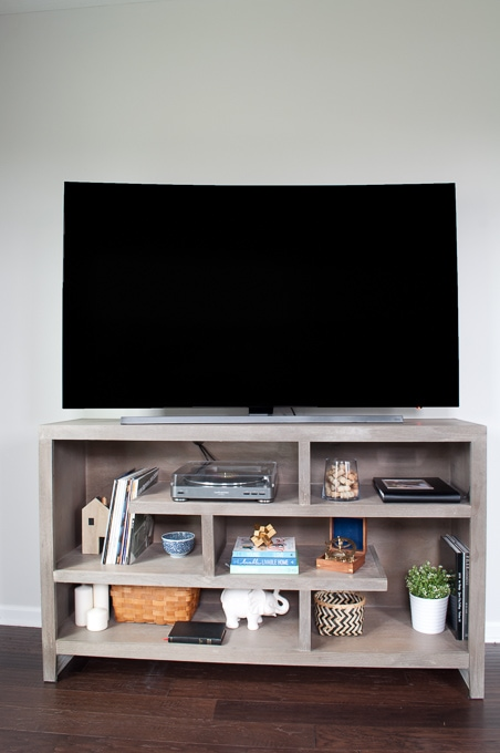 how to design a modern media center using ikea besta cabinets get a