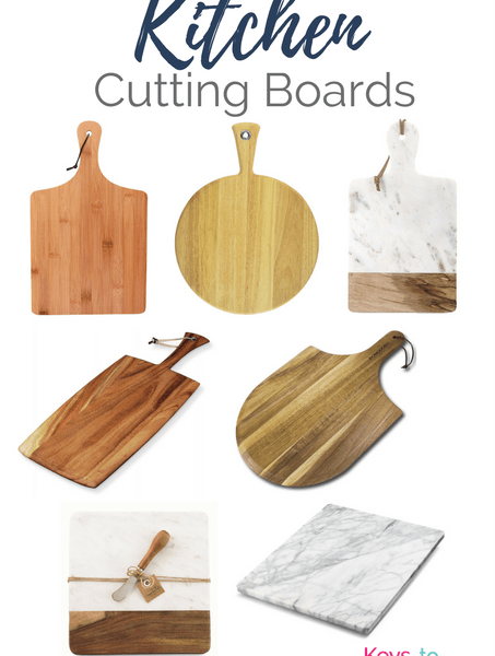 Get the Modern Classic look for less! Affordable Kitchen Cutting Boards for your home. All of these are from Amazon!
