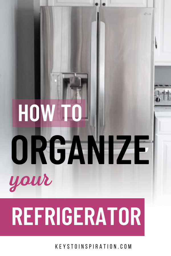 How to organize your refrigerator
