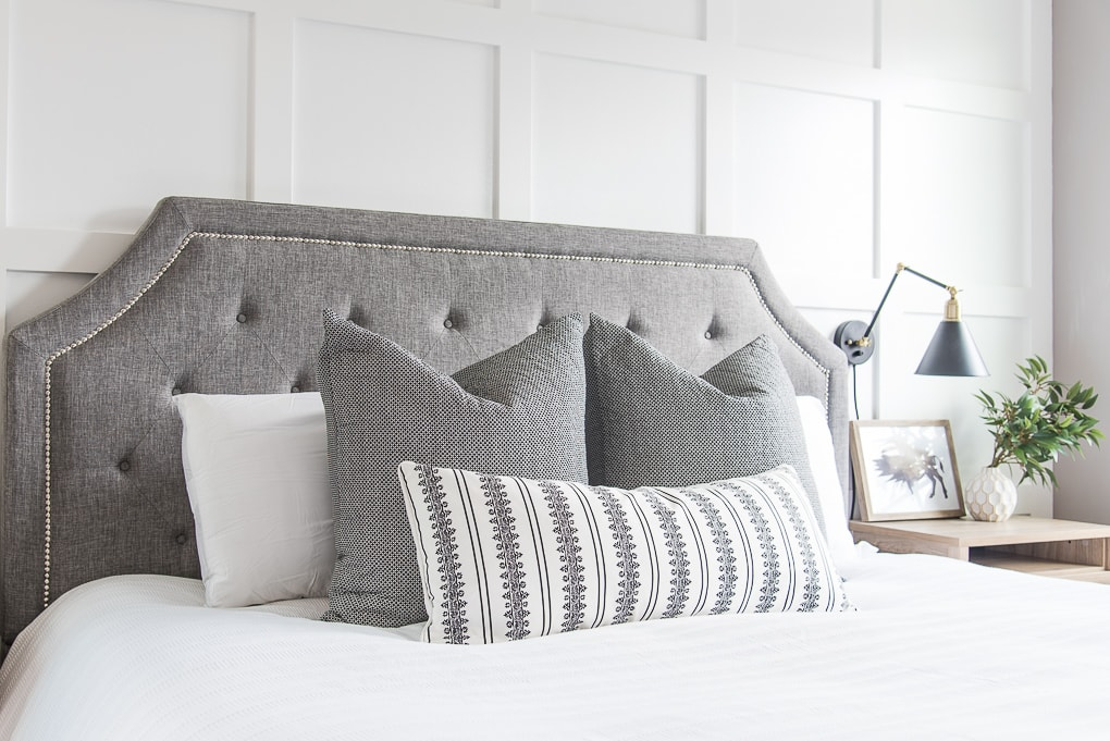 Build Your Ultimate Bed - Dream Bedding Essentials. Create a beautiful, styled bed arrangement using high-quality bedding items. Budget-friendly bedding that looks amazing! How to arrange pillows on a bed