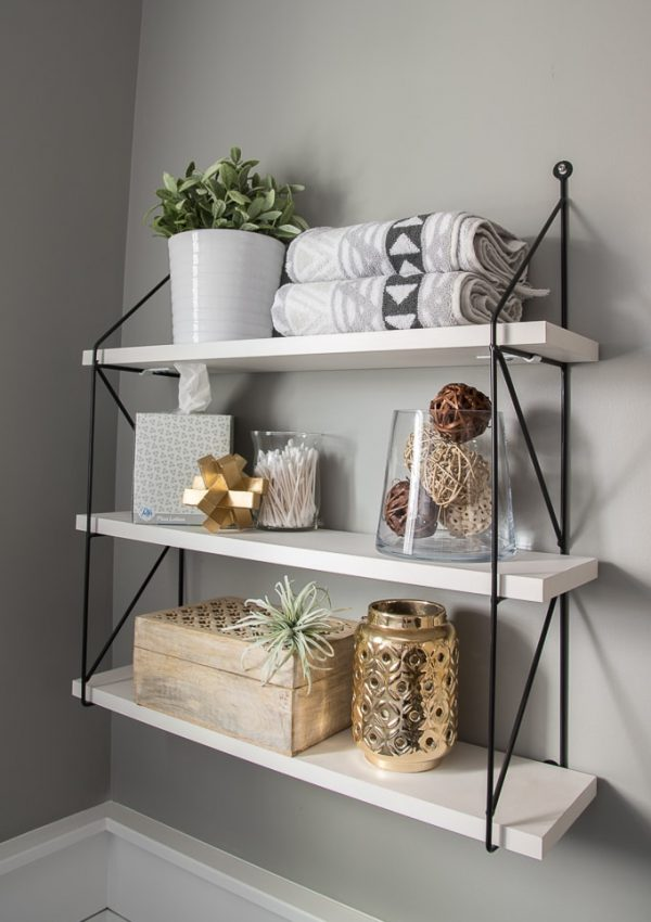 5 Essential Elements of Beautifully Styled Shelves