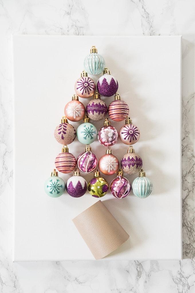 Diy Christmas Tree Ornament Art Christene Holder