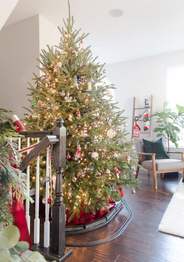 How to Keep a Christmas Tree Watered {with Evergreen Elf}