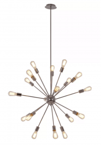 Beautiful and affordable sputnik chandeliers for your home at a budget price. Check out these amazing finds!