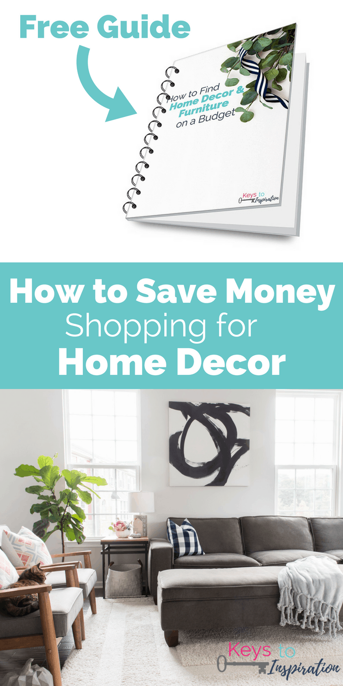 How to save money shopping for home decor free guide for Home decor and shopping