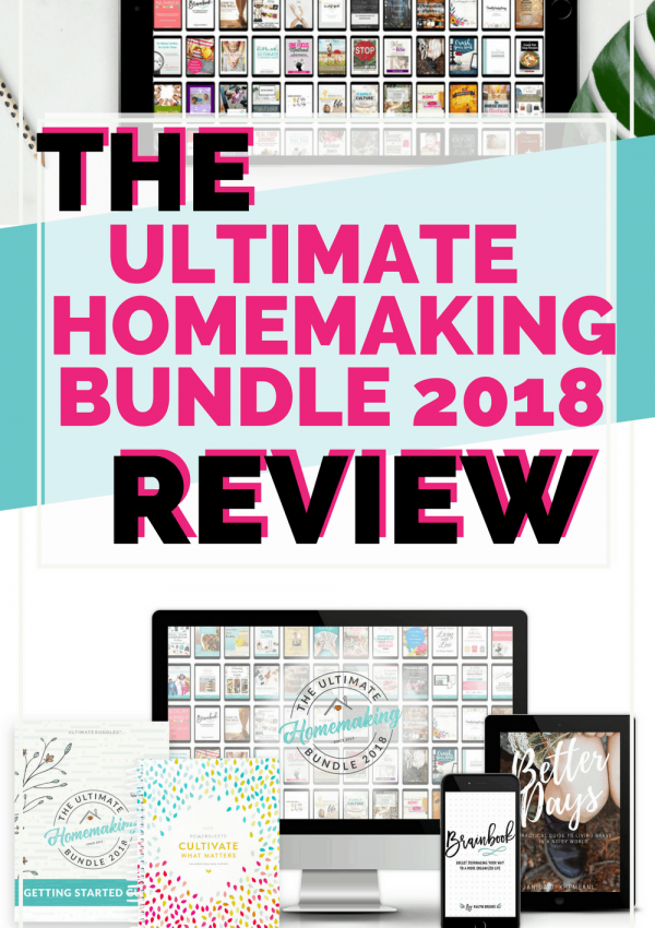 The Ultimate Homemaking Bundle 2018 Review