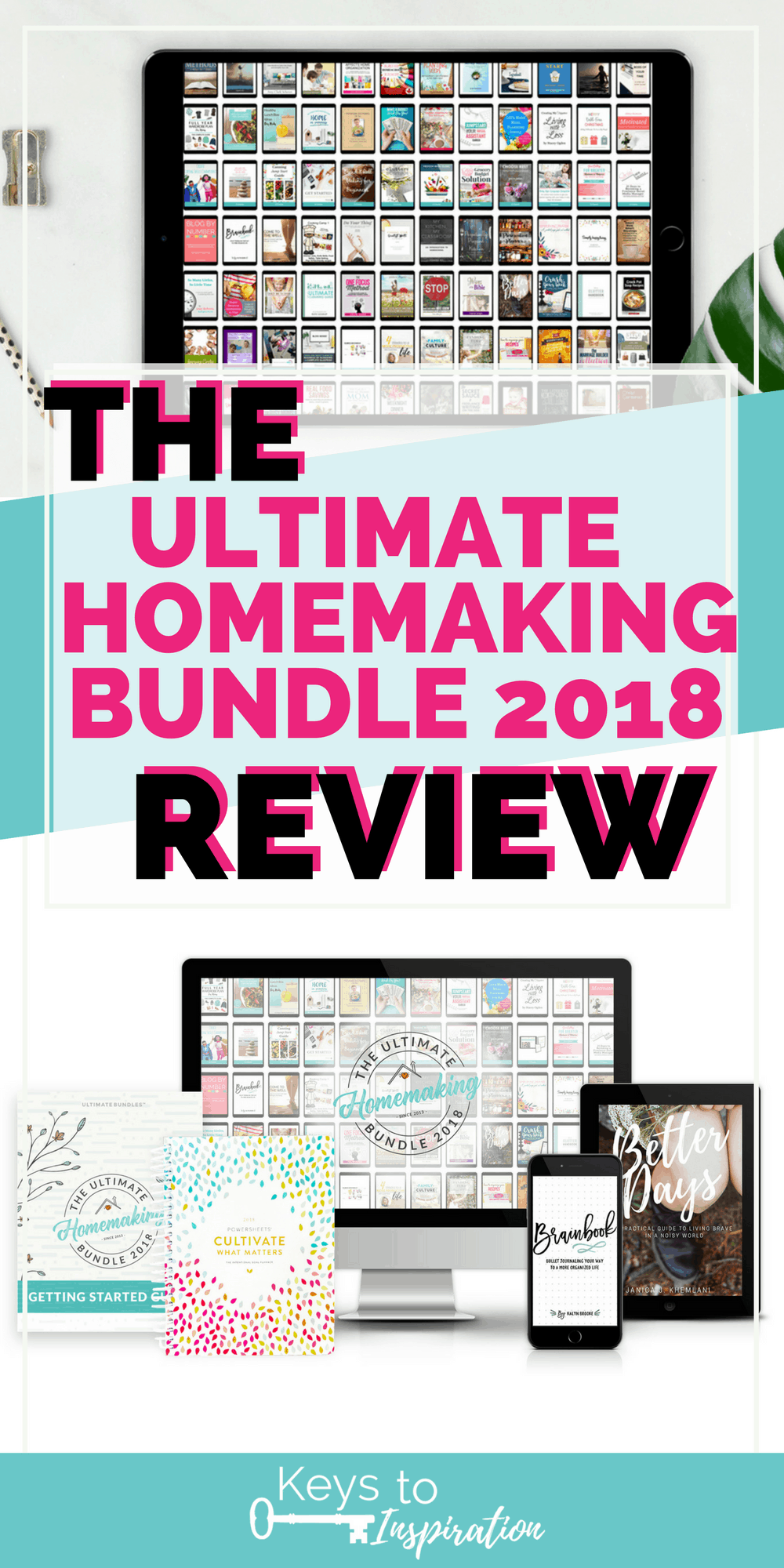 A review of the Ultimate Homemaking Bundle 2018. Learn all about the bundle, what's included, my favorite resources, and your questions answered.